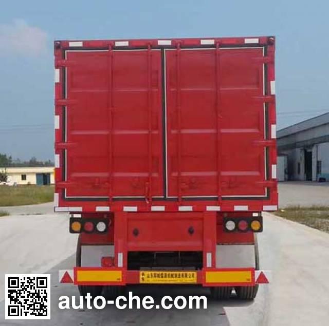 Ruyuan ZDY9400XXY box body van trailer