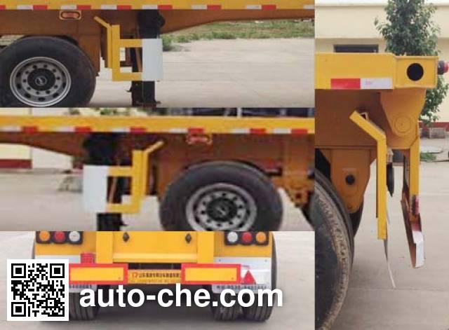 Ruyuan ZDY9400ZZXP flatbed dump trailer