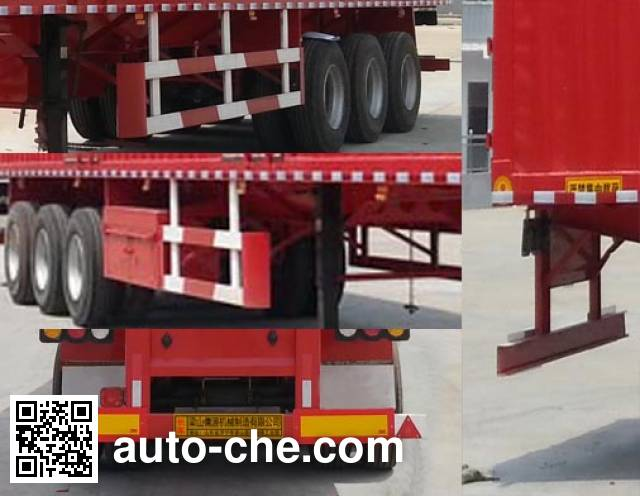 Ruyuan ZDY9401XXY box body van trailer