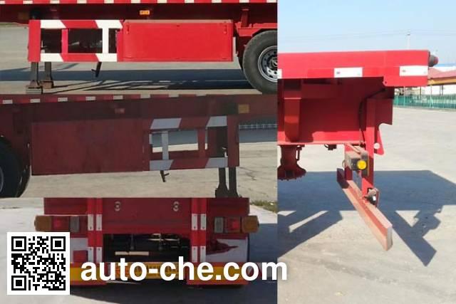 Ruyuan ZDY9403ZZXP flatbed dump trailer
