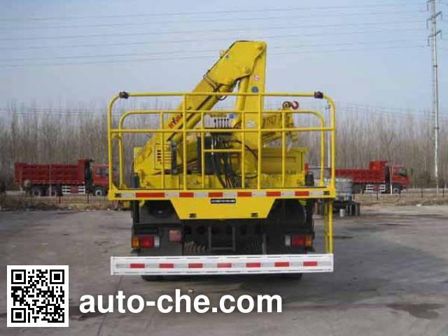 Fuqing Tianwang ZFQ5240JJH weight testing truck