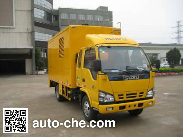 Luzhiyou ZHF5070XDY power supply truck