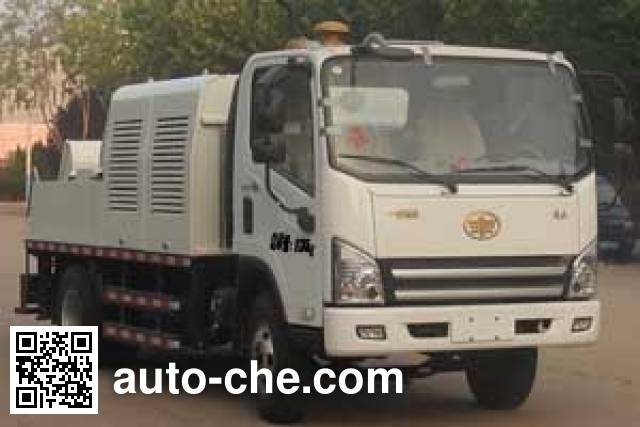 Hailong Jite ZHL5080THB бетононасос на базе грузового автомобиля