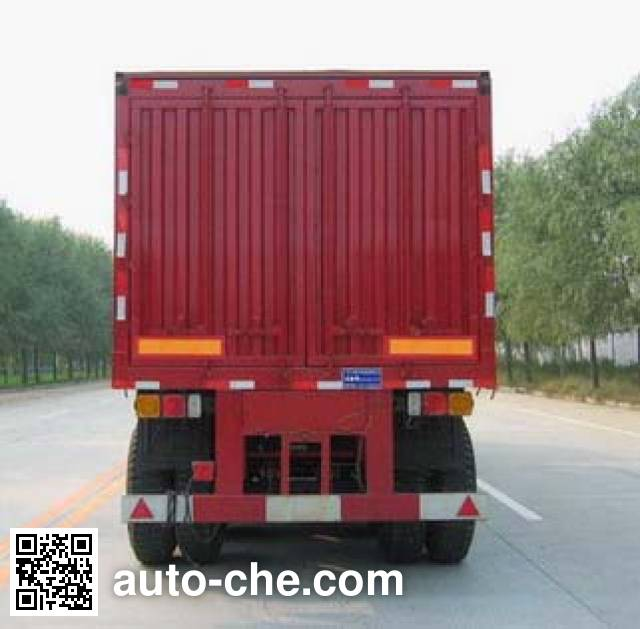 Dadi ZHT9381XXY box body van trailer