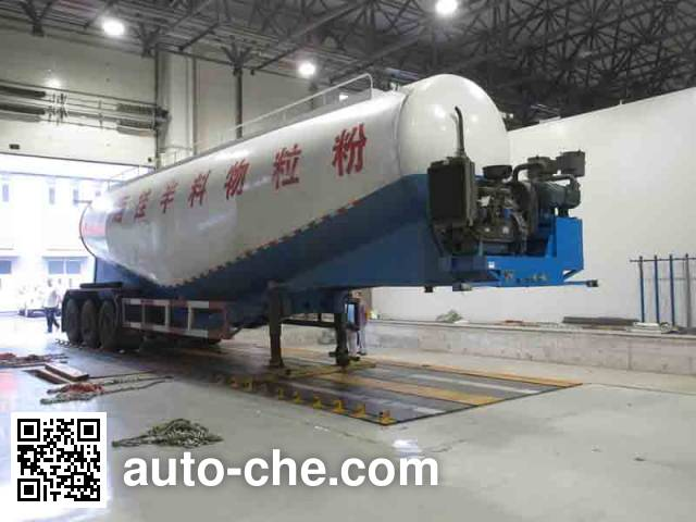 Xinjun ZHY9400GFL low-density bulk powder transport trailer