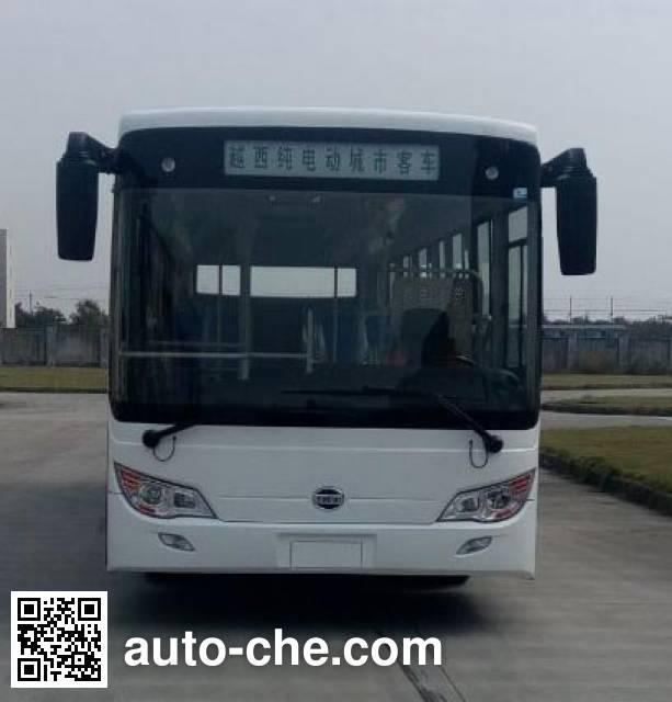 Yuexi ZJC6105UBEV electric city bus