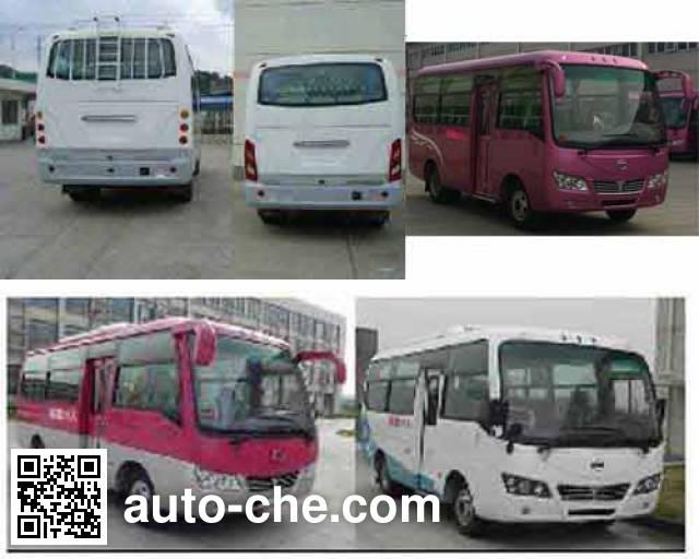 悦西牌ZJC6601JEQT5客车