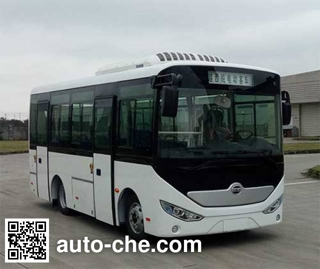 Yuexi ZJC6660UBEV1 electric city bus