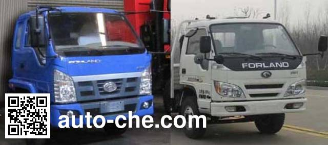 Chenhe ZJH5081ZYS garbage compactor truck