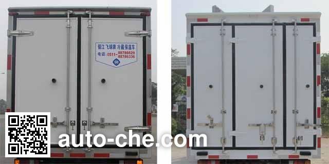 飞球牌ZJL5041XLCC4冷藏车