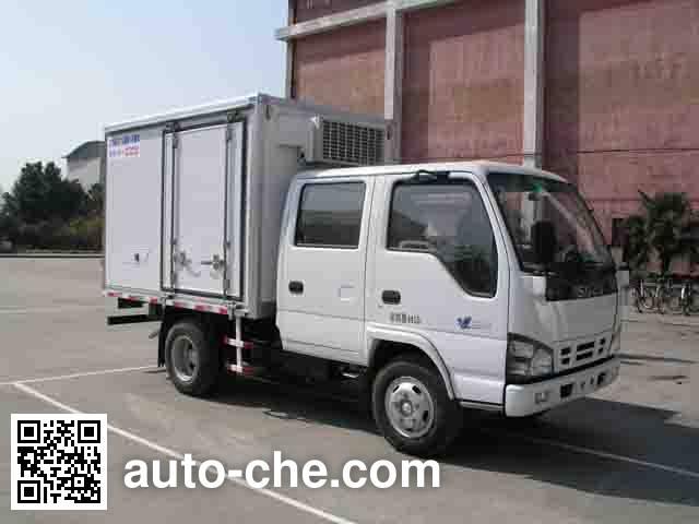 飞球牌ZJL5043XLCS4冷藏车