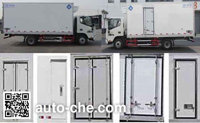 Feiqiu ZJL5081XLCH5 refrigerated truck