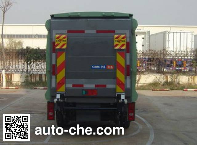 CIMC ZJV5030XTYHBS sealed garbage container truck