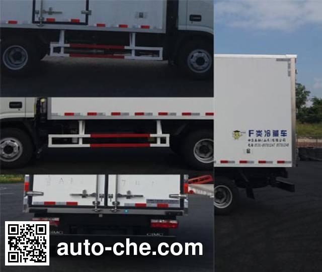 CIMC ZJV5047XLCSD5 refrigerated truck