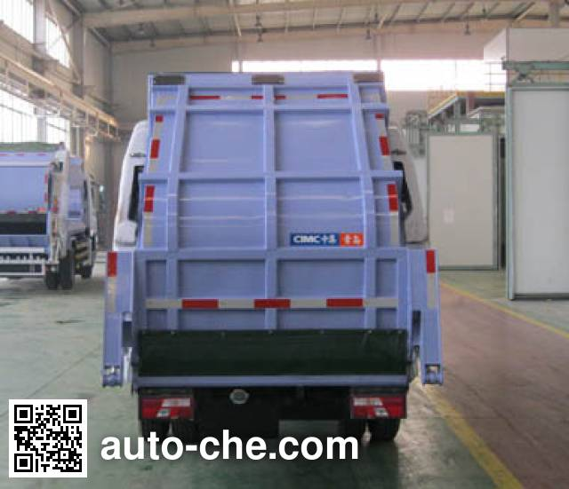 CIMC ZJV5072ZYSHBL5 garbage compactor truck