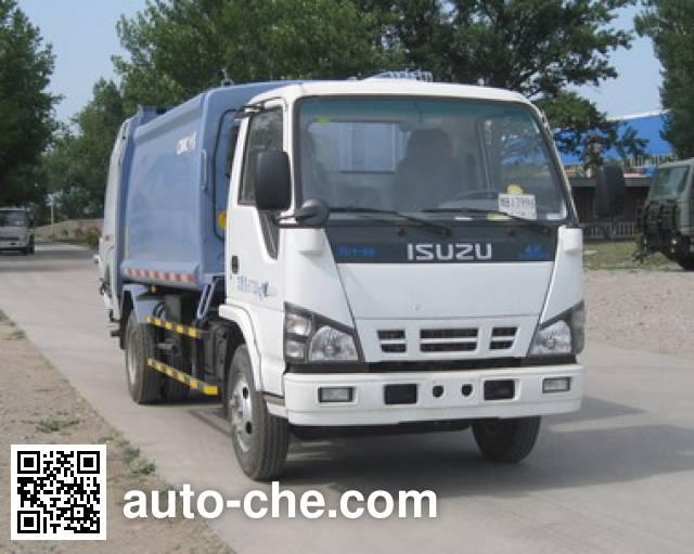 CIMC ZJV5071ZYSHBQ5 garbage compactor truck