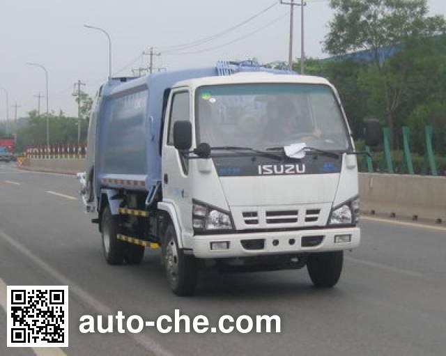 CIMC ZJV5077ZYSHBQ garbage compactor truck