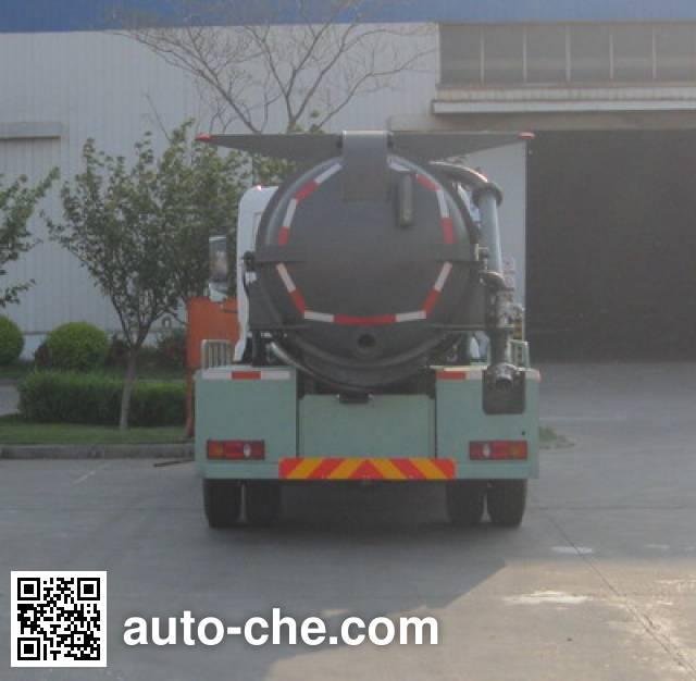 CIMC ZJV5120GXWHBE5 sewage suction truck