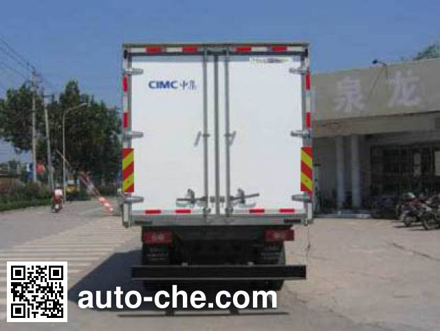 CIMC ZJV5123XLCSD refrigerated truck