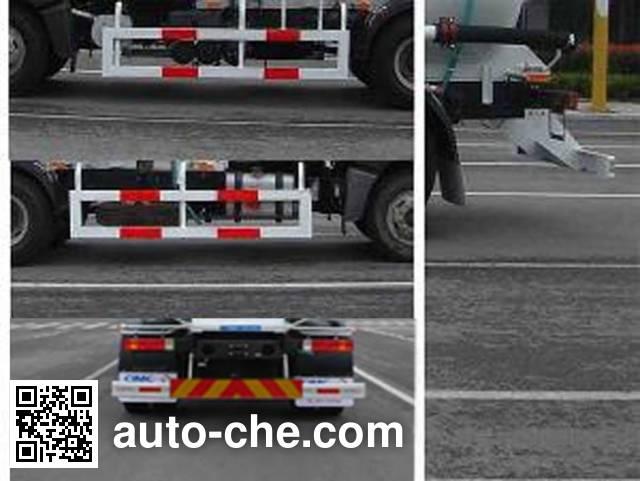 CIMC ZJV5160GFLCA bulk powder tank truck