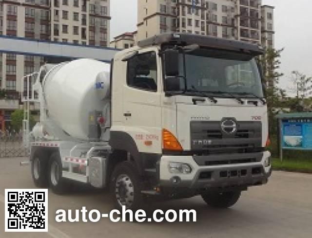 中集牌ZJV5251GJBJMA混凝土搅拌运输车