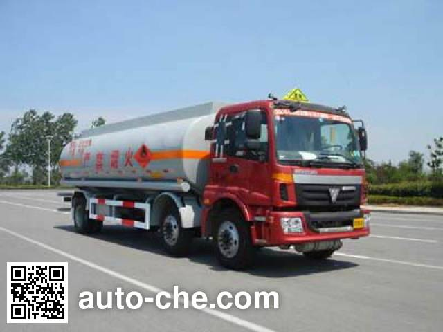 CIMC ZJV5253GHY01TH chemical liquid tank truck