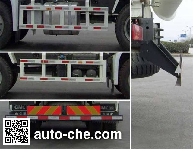 CIMC ZJV5257GJBLYZZ7 concrete mixer truck