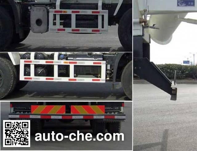 CIMC ZJV5259GJBLYDF1 concrete mixer truck