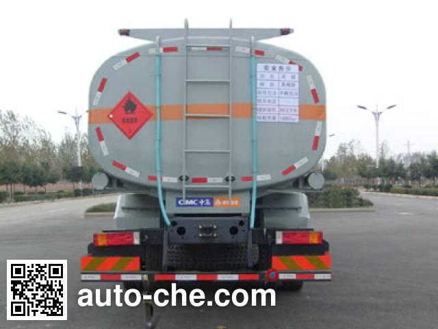 CIMC ZJV5312GHYLY chemical liquid tank truck