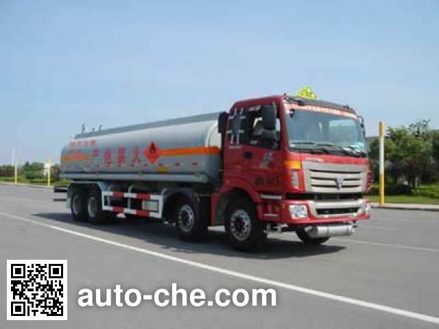 CIMC ZJV5313GHY01TH chemical liquid tank truck