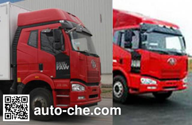 CIMC ZJV5318XLCSD5 refrigerated truck