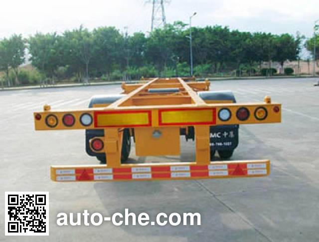 CIMC ZJV9110TJZSZ empty container transport trailer
