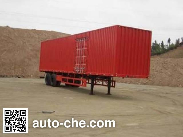 CIMC ZJV9272XXY box body van trailer