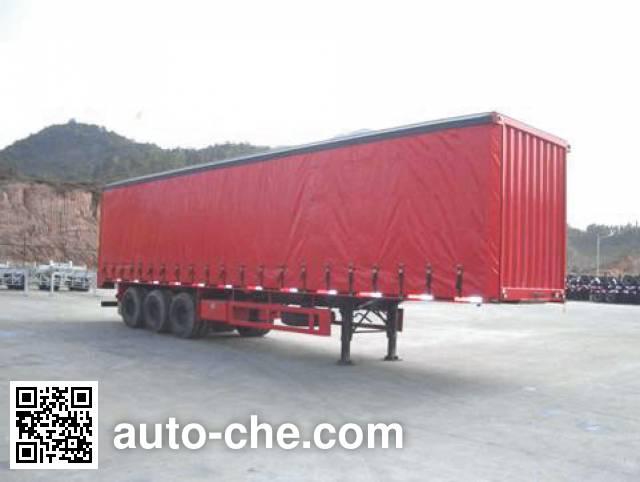 CIMC ZJV9286XXY curtainsider trailer