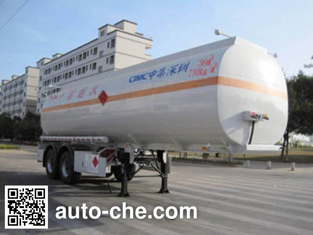 CIMC ZJV9340GYYSZ oil tank trailer
