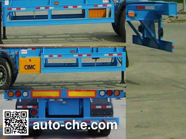 CIMC ZJV9343TJZ container transport trailer