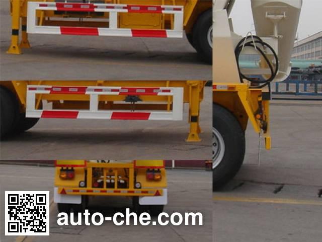 CIMC ZJV9350GJBDD01 concrete mixer trailer