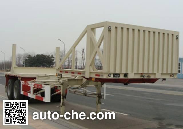 CIMC ZJV9350TJGYK oil well pipe transport trailer