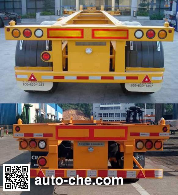 CIMC ZJV9350TJZ container transport trailer