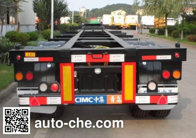 CIMC ZJV9350TJZQD container transport trailer