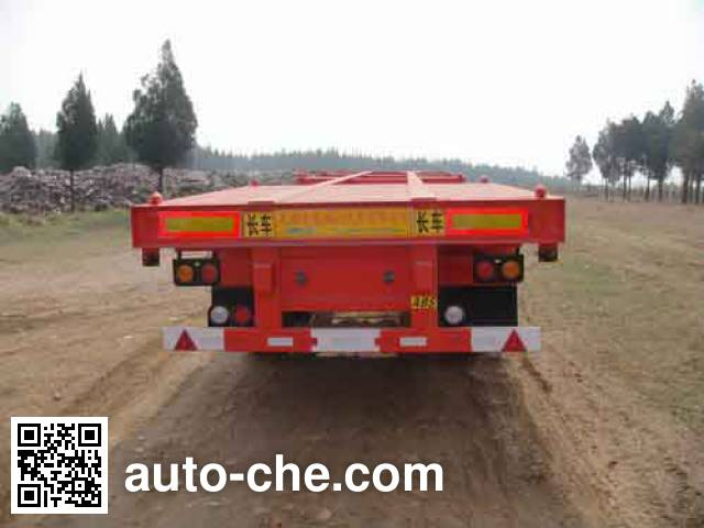 CIMC ZJV9350TJZRJ container transport trailer