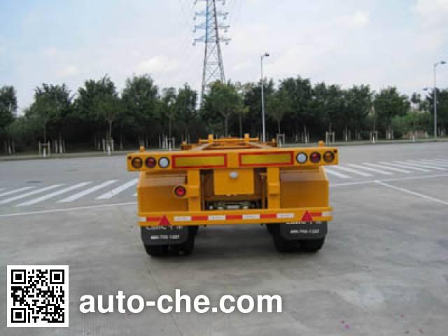 CIMC ZJV9350TJZSZ container transport trailer