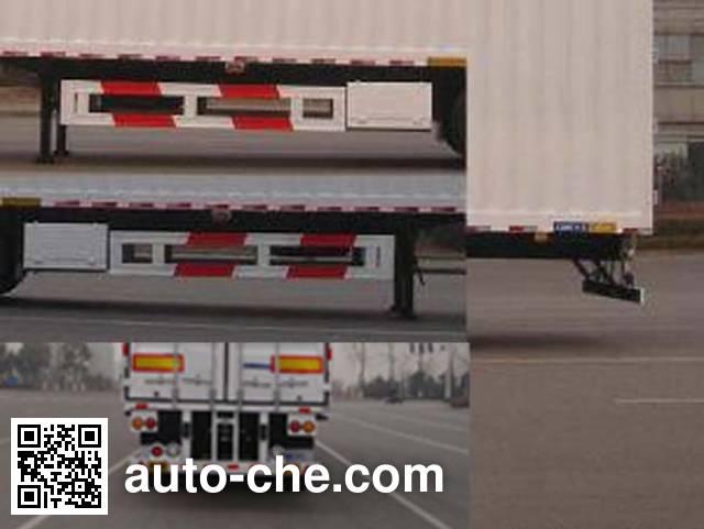 中集牌ZJV9351XXYTH厢式运输半挂车