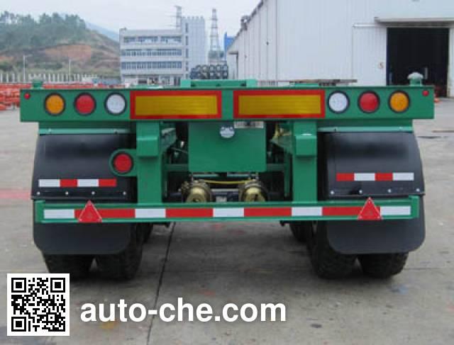 CIMC ZJV9351TJZSZ container transport trailer