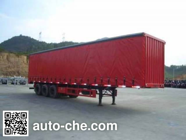 CIMC ZJV9380XXY curtainsider trailer
