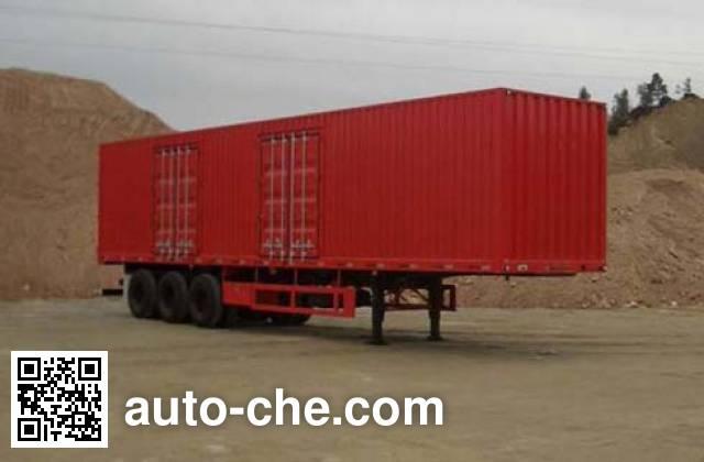 CIMC ZJV9383XXYA box body van trailer
