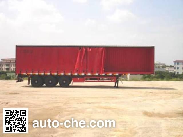 CIMC ZJV9384XXY curtainsider trailer