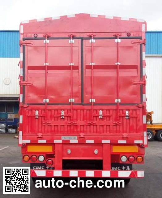 CIMC ZJV9400CCYSZ stake trailer