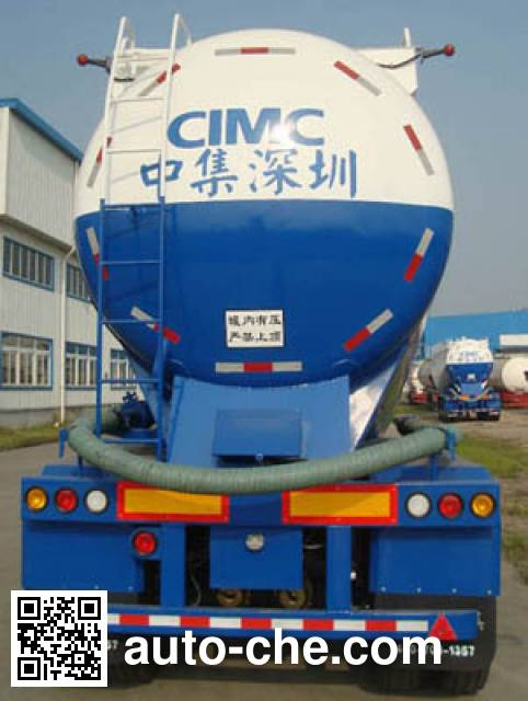 CIMC ZJV9400GFLSZ bulk powder trailer