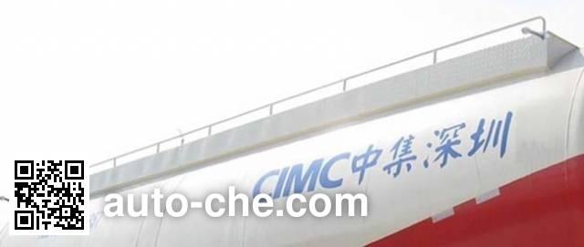 CIMC ZJV9400GFLSZA medium density bulk powder transport trailer